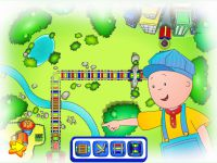 Caillou Zug Spiel